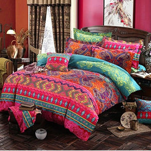Bohemian 3d comforter bedding sets Mandala duvet cover set winter bedsheet Pillowcase queen king