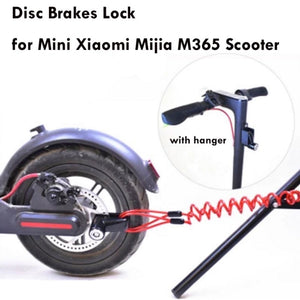 Portable Electric Skateboard Lock Disc Brakes Wheels Lock for Xiaomi Mijia M365 Scooter Skate