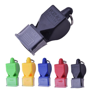 1Pcs Whistle Plastic Fox 40 Soccer Football Basketball Hockey Baseball Sports Referee Whistle Survival Outdoor Like