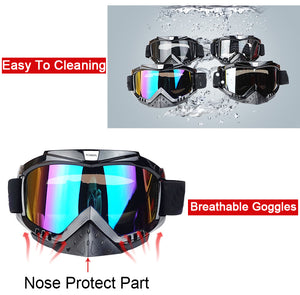 New Vcoros brand Gafas motorcycle goggles helmet glasses moto helmets glasses masque motocross