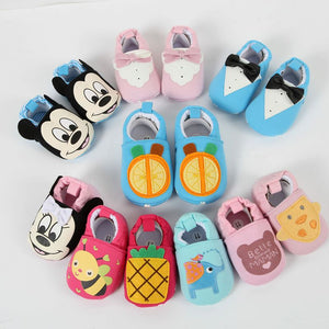 New Baby Infant Cartoon Shoes 0-18M Boys Girls Casual Shoes Fashion Shoes High Quality Spring Autumn