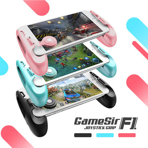 GameSir F1 MOBA Controller for Android & iPhone (Mobile Legends, Vainglory, etc) Gamepad Grip