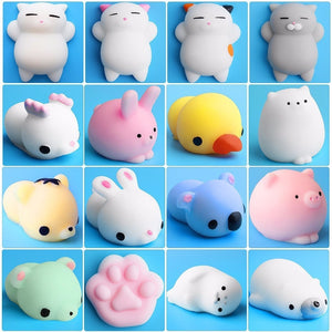 Squishy Toy Cute Animal Antistress Ball Squeeze Mochi Rising Toys Abreact Soft Sticky Squishi Stress