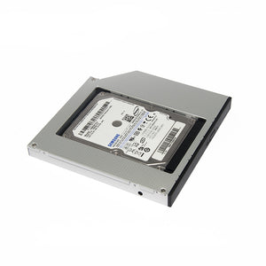 "2nd HDD Caddy SATA 3.0 To SATA 2.5"" SSD HDD Case 9.5mm Universal Aluminum Metal Material For"