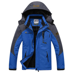 Winter jacket men velvet warm windproof parka mens waterproof outdoorsports military hooded