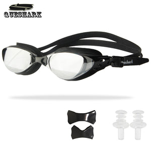 Men Women Swim Glasses Anti Fog UV Protection Swim Eyewear Professional Electroplate Waterproof Swimming Goggles