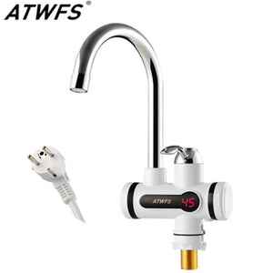 Electric Tankless Hot Water Tap Instant Hot Water Heater Heating Faucet Instantaneous Water Heater