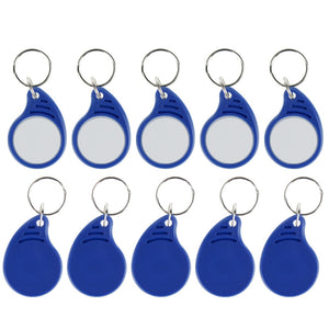 RFID IC keyfobs 13.56 MHz keychains NFC key tags ISO14443A MF Classic 1k token tag for smart access control system