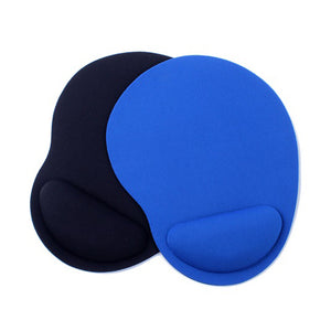 2PCS Optical Trackball PC Thicken Black Blue Mouse Pad Support Wrist Comfort Mouse Pad Mat Mice