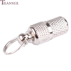 Transer Pet Supply Silver Aluminum Alloy Pet Dog Cat ID Tags Collar Attached Address Label Empty