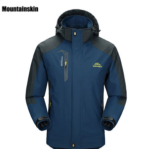 New Spring Autumn Mens Softshell Hiking Jackets Male Outdoor Camping Trekking Climbing Coat For