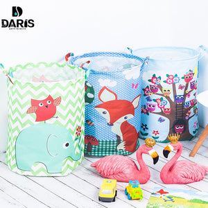 SDARISB 35*45cm Waterproof Storage Basket For Toy Dirty Laundry Basket Bag Clothes Toys Storage