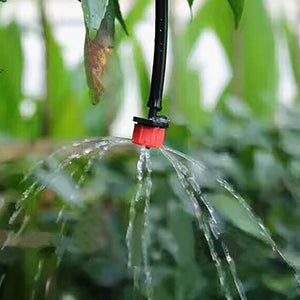 50 Pcs Adjustable Dripper Red Micro Drip Irrigation Watering Anti-clogging Emitter Garden Supplies