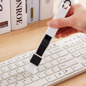 2 in 1 Multipurpose Window Groove Cleaning Brush Household Keyboard Home Kitchen Folding Brush Cleaning Tool