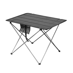 Portable Foldable Table Camping Outdoor Furniture Computer Bed Tables Picnic 6061 Aluminium Alloy