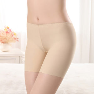 Sexy Women Soft Cotton Seamless Safety Short Pants Summer Quality Under Skirt Shorts Modal Ice
