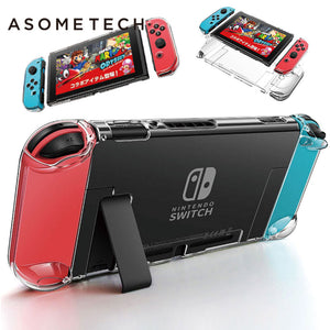 Detachable Crystal PC Transparent Case For Nintendo Nintend Switch NS NX Cases Hard Clear Back Cover
