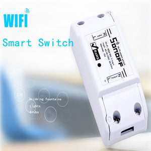 2/3/5/6/8/10PCS Sonoff Basic Smart Home Wifi Switch Wireless Remote Control Light Timer Switch DIY Modules 10A/2200W via Ewelink