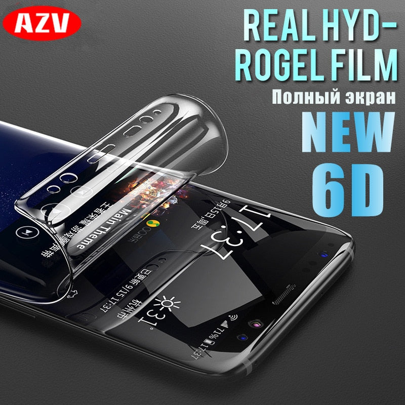 6D Full Cover Soft Hydrogel Film For Samsung Galaxy Note 8 9 S8 S9 Screen Protector For Samsung S9