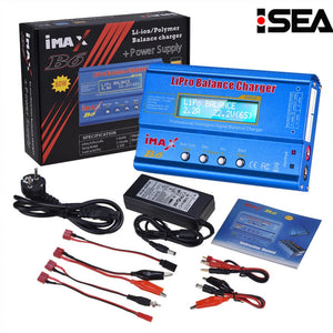 Hot Selling HTRC iMAX B6 80W 6A Battery Charger Lipo NiMh Li-ion Ni-Cd Digital RC Balance Charger