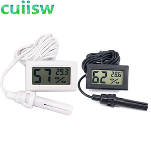 Mini LCD Digital Thermometer Hygrometer Temperature Indoor Convenient Temperature Sensor Humidity