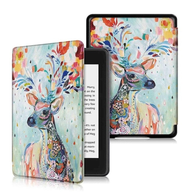 Magnetic Smart Cover Case For Amazon New Kindle Paperwhite Released Case funda For Kindle Paperwhite