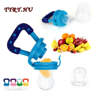 TYRY.HU 1PC Baby Teether Nipple Fruit Food Mordedor Silicona Bebe Silicone Teethers Safety Feeder Bite Food Teether BPA Free