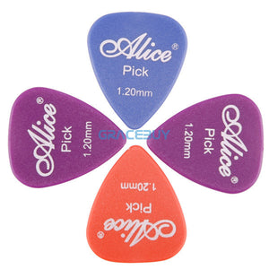 Alice 100pcs Single/ Multi Thickness Guitar Picks Plectrum Assorted Colors Guitarra Puas Palheta Musical Instrument 28
