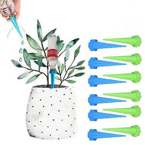 4 Pcs 4 Installed Automatic Watering Garden Supplies Irrigation Kits System Houseplant Spikes