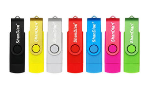 JASTER USB flash drive OTG high Speed drive 64 GB 32 GB 16 GB 8 GB 4GB external storage double