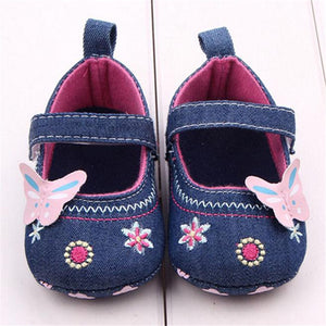 LONSANT First Walker Fashion Baby Shoes Butterfly Soft Sole Toddler Shoes Infant Boy Shoes