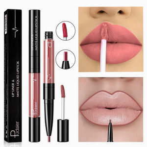 16 Color Liquid Lipstick Matte Red Lip Long Lasting Waterproof Make Up Mate Lip Stick Nude Pink Lips
