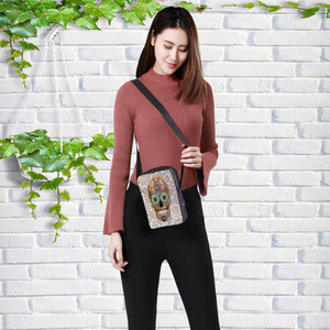 2019 Fashion Messenger Bags for women Punk style Shoulder Bag Children Crossbody Bag for Girl skull style children bag 23x17x5cm