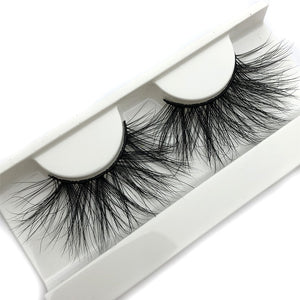 Mikiwi 25mm 3D Mink Lashes E04 100% Cruelty free Thick soft Natural 25mm Mink Lashes False Eyelashes