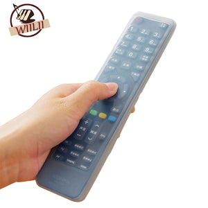 WIILII 1 Pc Waterproof Universal Silicone TV Remote Control Cover Protective Case For Air