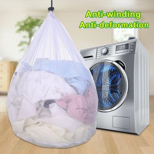 1PC 3 Sizes Mesh Laundry Wash Bags Basket Foldable Delicates Lingerie Bra Socks Underwear Washing