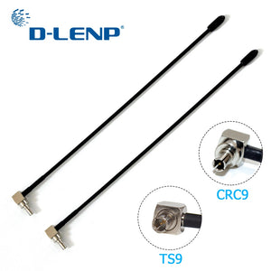 Dlenp 2pcs 4G LTE Antenna with TS9 or CRC9 Connector For Huawei E398 E5372 E589 E392 Zte MF61 MF62