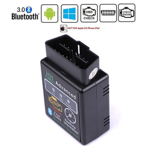 Bluetooth OBD2 OBDII CAN BUS Check Engine Car Auto Diagnostic Scanner Tool Interface Adapter For