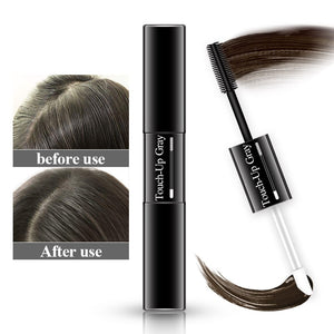 Temporary Hair Dye 2 in 1 applicator hair color brush and comb DIY Hair Color Wax Mascara Dye