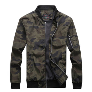 M-7XL 2019 New Autumn Men's Camouflage Jackets Male Coats Camo Bomber Jacket Mens Brand Clothing