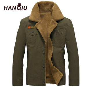 2019 Winter Bomber Jacket Men Air Force Pilot MA1 Jacket Warm Male fur collar Mens Army Tactical