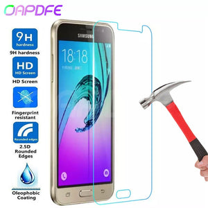 Premium Tempered Glass on the For Samsung Galaxy S7 J3 J5 J7 2015 2016 2017 J3 J7 2018