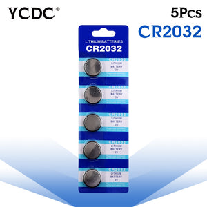Cheap 5x cr2032 3v lithium battery cr 2032 Button Coin Cells Batteries CR2032 DL2032 KCR2032