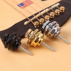 Guitar Strap Button Lock Straplocks Guitar Buckle Skidproof Acoustic Electric Bass Strap