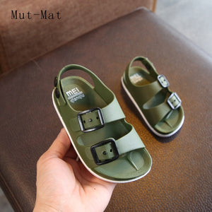 Summer 2019 boys shoes England 1-4 years old baby children's sandals children's non-slip sandals