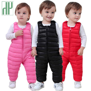 HH Children pants for girls leggings Cotton warm winter toddler trousers boys pants waterproof