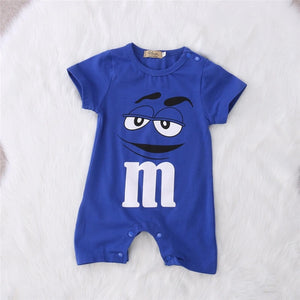 2018 Baby Pure Cotton Lovable Dress Letter Print Fashion Boy Girl Casual Clothes Children Short