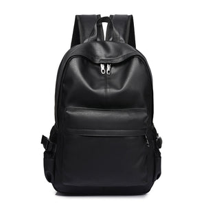 Men Backpack Men's Backpacks for Teenager Luxury Designer PU Leather Backpacks Male High Quality Travel Backpacks