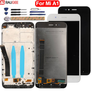 For Xiaomi MiA1 Mi A1 LCD Display+Touch Screen High Quality New Digitizer Screen Glass Panel For