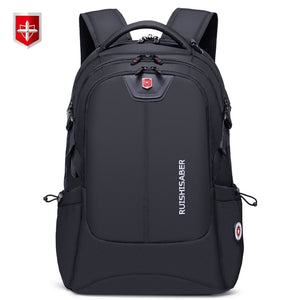New Fashion 17.3 inch Laptop Backpack Men Multifunctional Waterproof Backpacks Male USB Charging